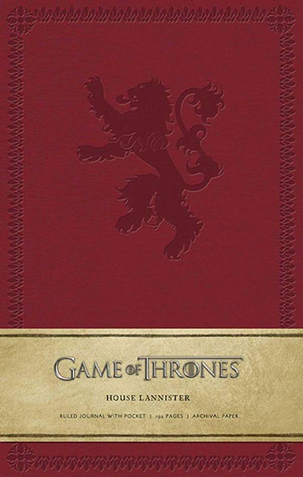 Тефтер Game of Thrones с Твърди Корици Ruled Journal House Lannister