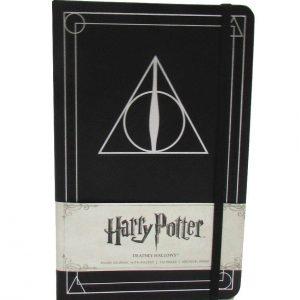 Тефтер Harry Potter Хари Потър с Твърди Корици Ruled Journal Deathly Hallows