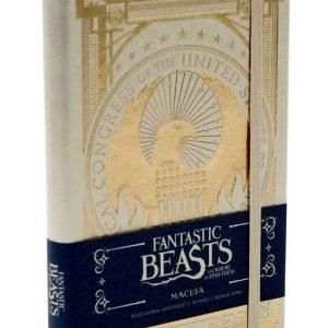 Тефтер Fantastic Beasts с Твърди Корици Ruled Journal MACUSA