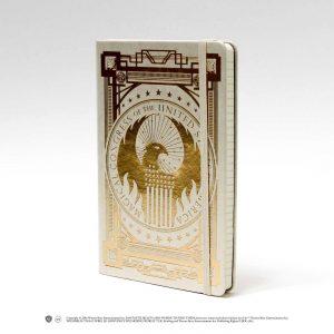Тефтер Fantastic Beasts с Твърди Корици Ruled Journal Newt Scamander