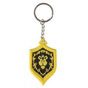 Гумен ключодържател World of Warcraft Alliance Pride 4 cm