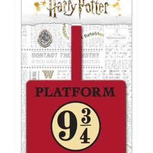 Гумен етикет за име и адрес Harry Potter Luggage Tag Platform 9 3/4