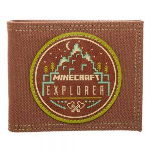 Портфейл Minecraft Bifold Minecraft Explorer