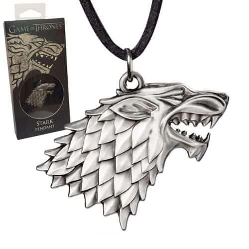 Медальон Game of Thrones Stark Sigil