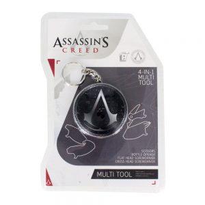 Мултифункционален Ключодържател Assassin's Creed Keychain 4 in 1 Multitool Logo