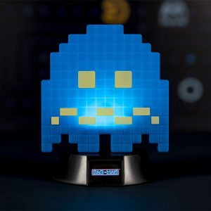 Лампа Pac-Man 3D Icon Light Turn To Blue Ghost 10 cm