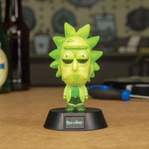 Лампа Rick and Morty 3D Icon Light Rick Limited Edition 10 cm