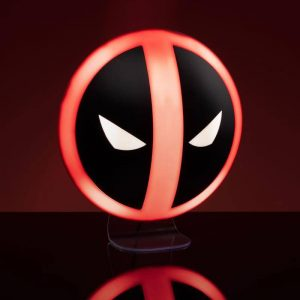 Лампа Deadpool Marvel 3D Light Logo 10 cm