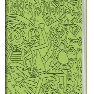 Тефтер Rick and Morty Flexi-Cover Premium Notebook A5 Portal Dash