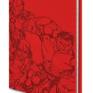 Джобен Тефтер Marvel Premium Notebook A6 The Avengers