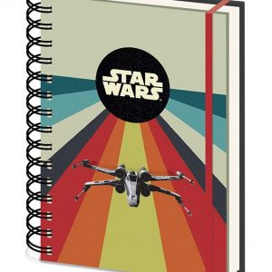 Тефтер със спирала Star Wars Wiro Premium Notebook A5 Nostalgia