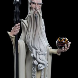Колекционерска фигурка Lord of the Rings Weta Workshop Mini Epics - Saruman 17 cm
