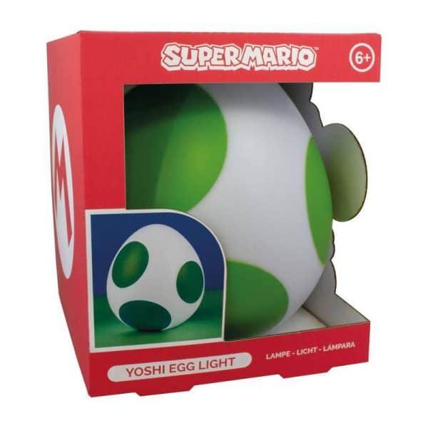 Голяма лампа Super Mario 3D Light Yoshi Egg 20 cm
