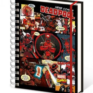 Тефтер Marvel Comics Deadpool Notebook A5