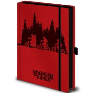 Тефтер Stranger Things Premium Notebook A5 Upside Down