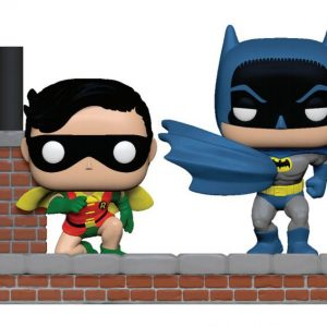Голяма Funko POP! Фигурка Batman 80th - Look Batman and Robin (1964) 9 cm POP Moment!