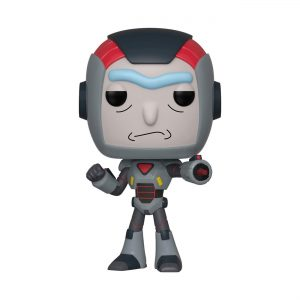 Funko POP! Фигурка Rick and Morty - Purge Suit Rick 9 cm POP! Animation