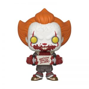 Funko POP! Фигурка Stephen King's It 2 - Pennywise Skateboard 9 cm POP! Movies