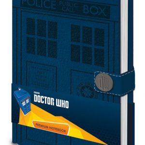 Тефтер Doctor Who Premium Notebook A5 Tardis