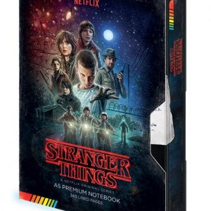 Тефтер Stranger Things Premium Notebook A5 VHS (S1)