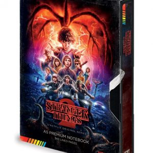 Тефтер Stranger Things Premium Notebook A5 VHS (S2)
