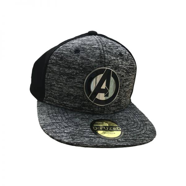 Шапка Avengers Snap Back Baseball Cap Metal Logo