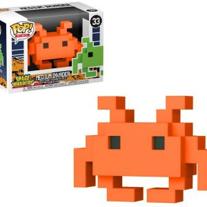 Funko POP! Фигурка 8-bit Space Invaders - Medium Invader Orange Special Edition POP! Games