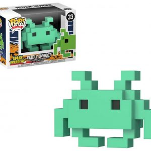 Funko POP! Фигурка 8-bit Space Invaders - Medium Invader Green Special Edition POP! Games