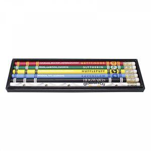 Комплект моливи 6 броя Хари Потър Harry Potter Домовете на Hogwarts