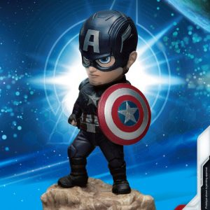 Колекционерска фигурка - Marvel Avengers: Endgame Mini Egg Attack Figure Captain America 7 cm
