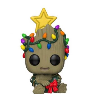 Funko POP! Фигурка Marvel Holiday - Groot 9 cm POP! Marvel Avengers