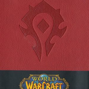 Тефтер World of Warcraft с Твърди Корици Horde Ruled Journal
