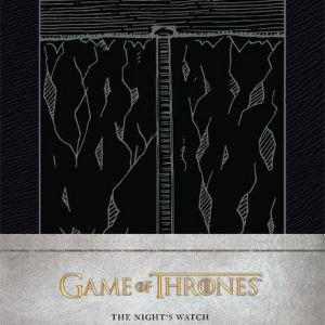 Тефтер Game of Thrones с Твърди Корици The Night's Watch Ruled Journal