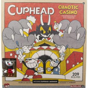 Голям конструктор с фигурки Cuphead Chaotic Casino