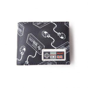 Портфейл Nintendo NES Controller AOP Black