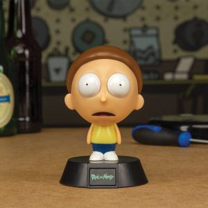 Лампа Rick and Morty 3D Icon Light Morty 10 cm
