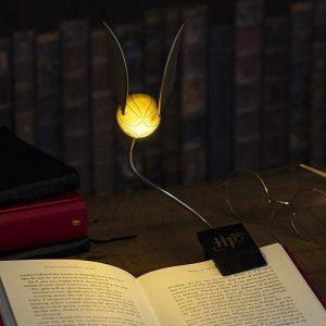 Лампа за четене Harry Potter Lumi Clip LED Golden Snitch