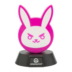 Лампа Overwatch 3D Icon Light DVa Bunny 10 cm