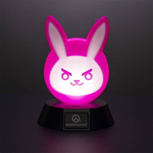 Лампа Overwatch 3D Icon Light DVa Bunny 10 cm
