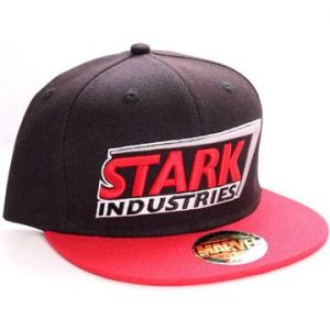 Шапка Iron Man Marvel Stark Red Logo Adjustable Cap