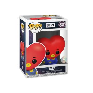 Funko POP! Фигурка BTS BT21 - Tata 9 cm Friends POP! Animation