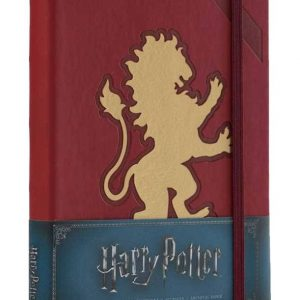 Тефтер Harry Potter с Твърди Корици Gryffindor Hardcover Ruled Journal