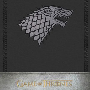 Тефтер Game of Thrones с Твърди Корици House Stark Hardcover Ruled Journal
