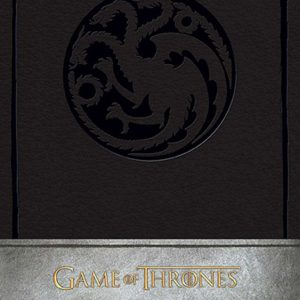 Тефтер Game of Thrones с Твърди Корици House Targaryen Hardcover Ruled Journal