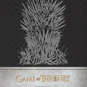 Тефтер Game of Thrones с Твърди Корици Iron Throne Hardcover Ruled Journal