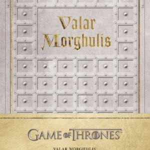 Тефтер Game of Thrones с Твърди Корици Valar Morghulis Hardcover Ruled Journal