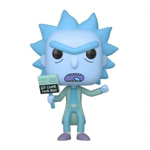 Funko POP! Фигурка Rick and Morty - Hologram Rick Clone 9 cm POP! Animation