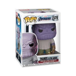 Funko POP! Фигурка Avengers Endgame Casual Thanos w/Gauntlet 9 cm POP! Movies