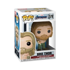 Funko POP! Фигурка Avengers Endgame Thor w/Pizza 9 cm POP! Movies