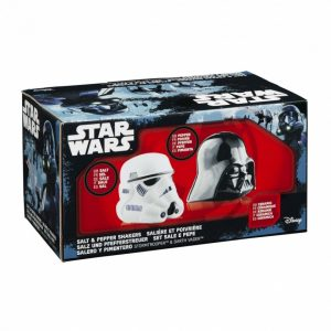 Комплект за Сол и Пипер Star Wars - Darth Vader & Stormtrooper Helmet